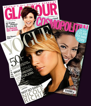 As seen in Glamour, Cosmopolitan and Vogue Magazines!